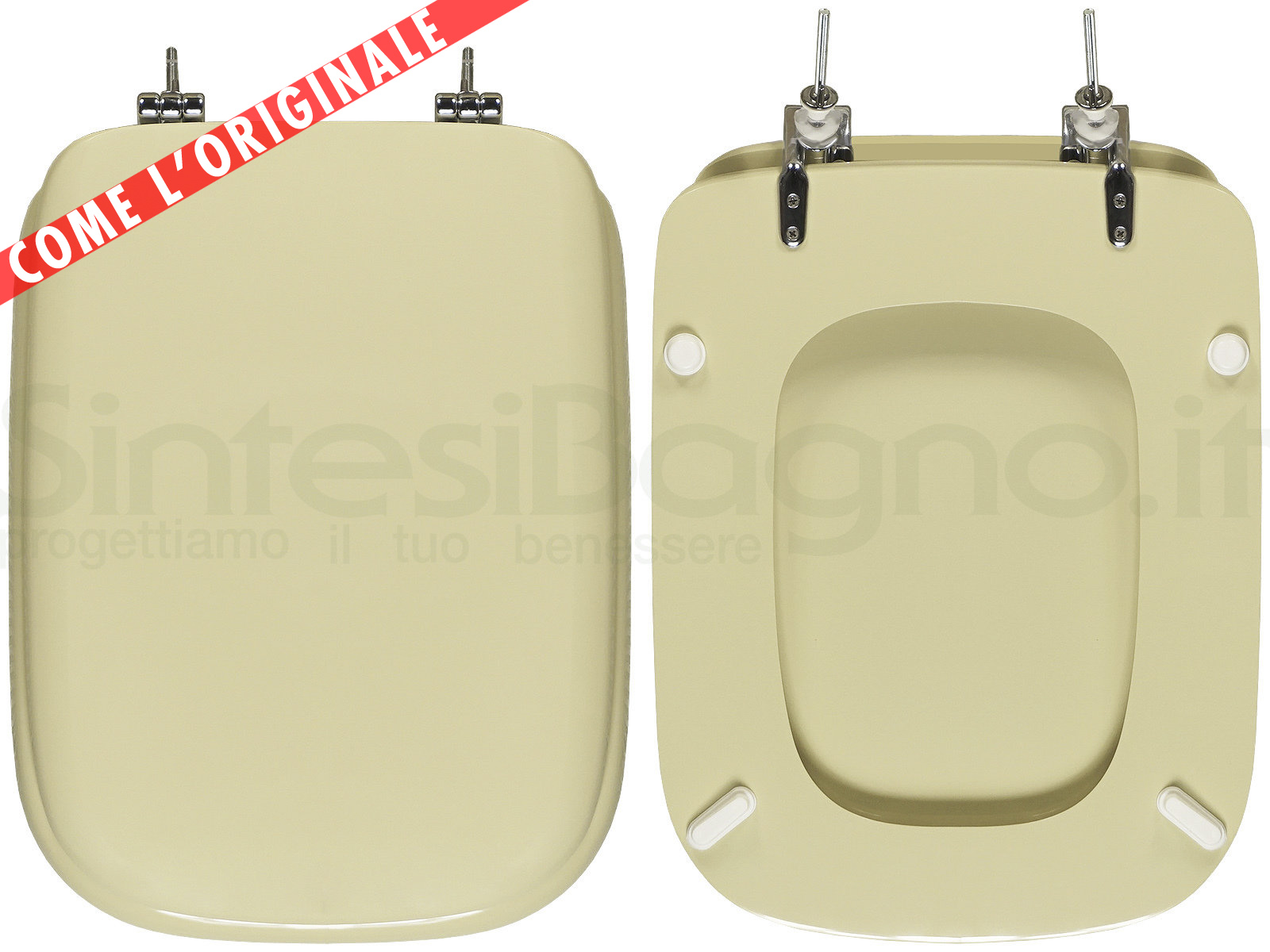 Asse Water Conca.Wc Seat Made For Wc Conca Ideal Standard Model Champagne Type Dedicated Sintesibagno Shop Online