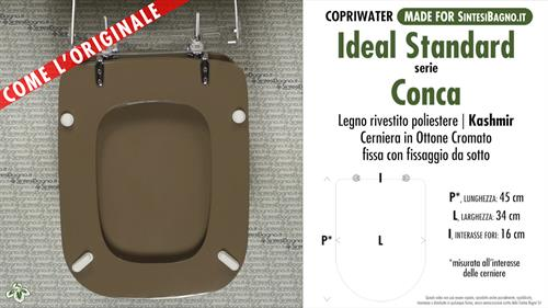 Wc Seat Made For Wc Conca Ideal Standard Model Kashmir Type