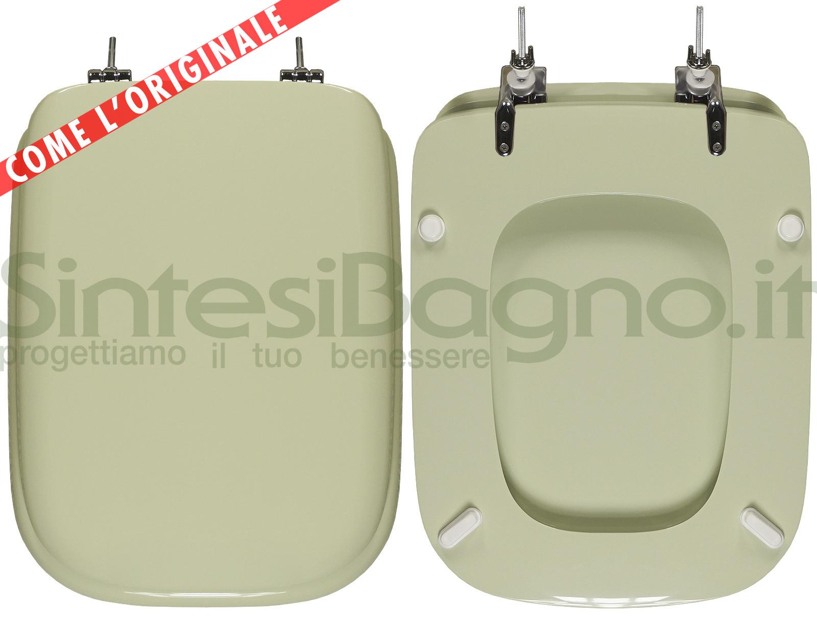 Copriwater per wc conca ideal standard verde sussurrato for Copriwater ideal standard