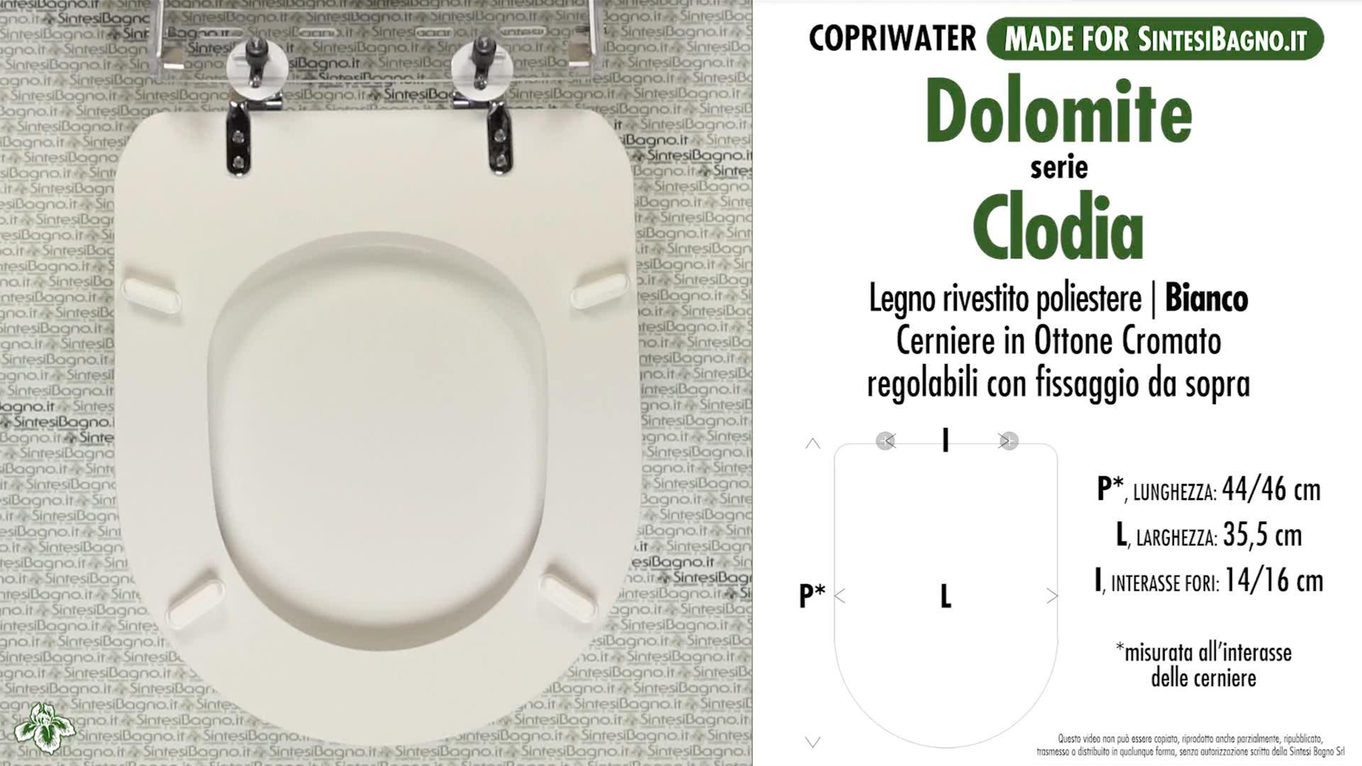 Sedile Wc Dolomite Clodia.Copriwater Per Wc Clodia Duo Dolomite Ricambio Dedicato Legno Rivestito Sintesibagno Shop Online