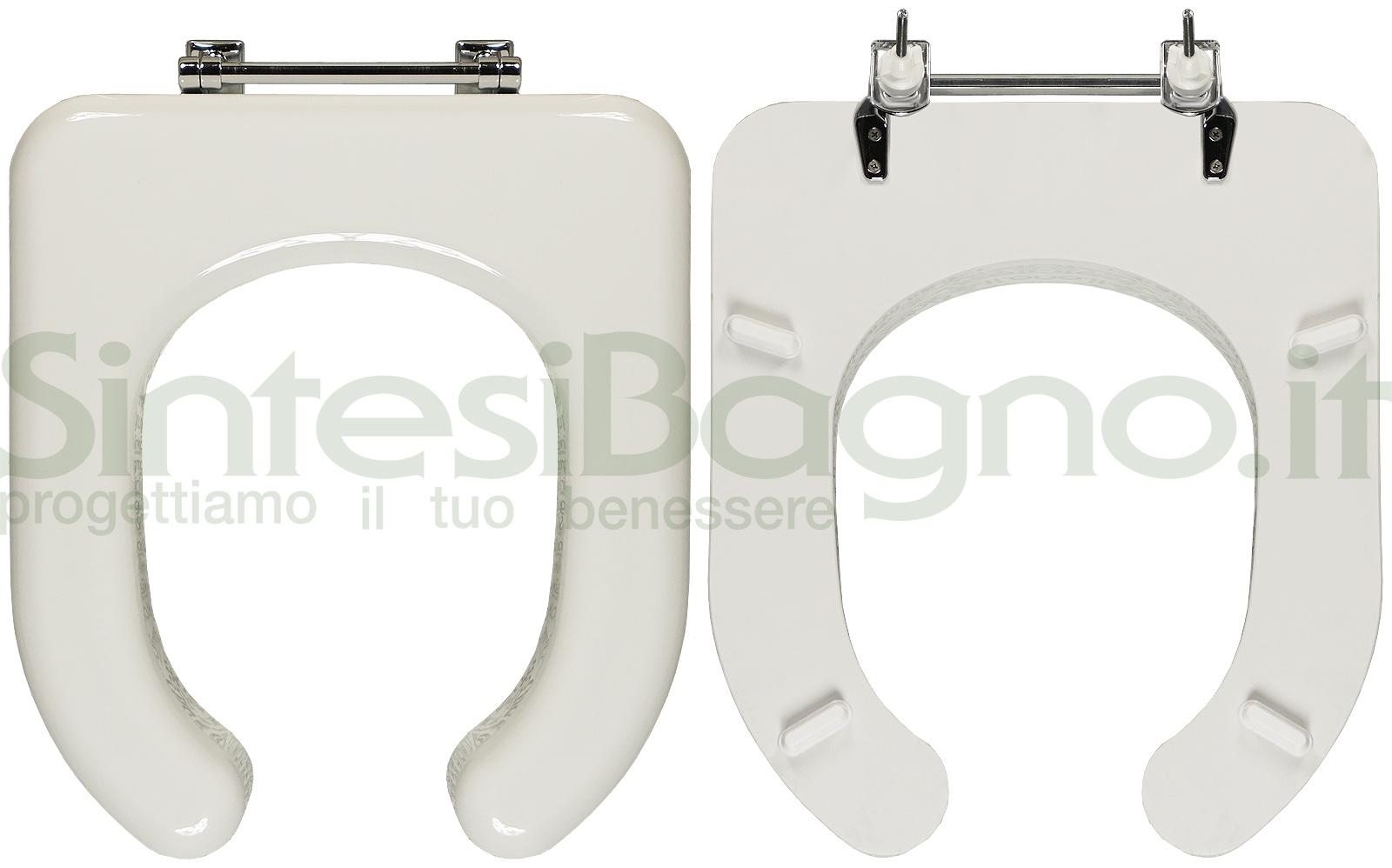 Sedile Wc Tesi Ideal Standard.Copriwater Per Wc Tesi Disabili Ideal Standard Legno Ricoperto