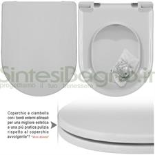 COPRIWATER per wc ESEDRA. IDEAL STANDARD. SOFT CLOSE. Ricambio DEDICATO
