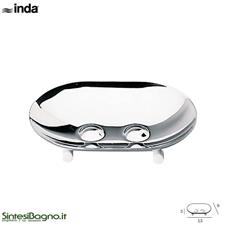 Free-standing soap holder. Bathroom accessories INDA/HOTELLERIE Series
