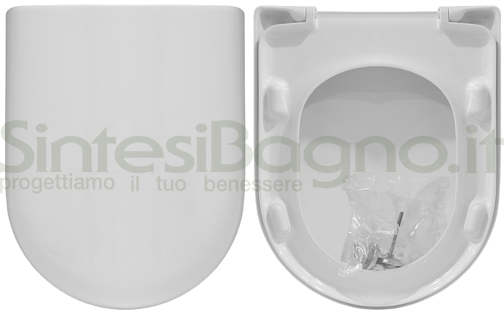 Sedile Fiorile Ideal Standard.Sedile Wc Per Ideal Standard Vaso Fiorile Copriwater