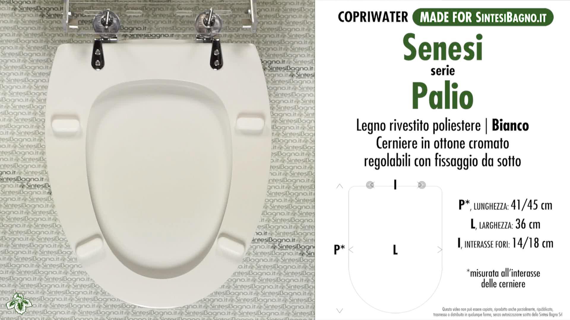 Copriwater Per Wc Palio Senesi Ricambio Dedicato Legno