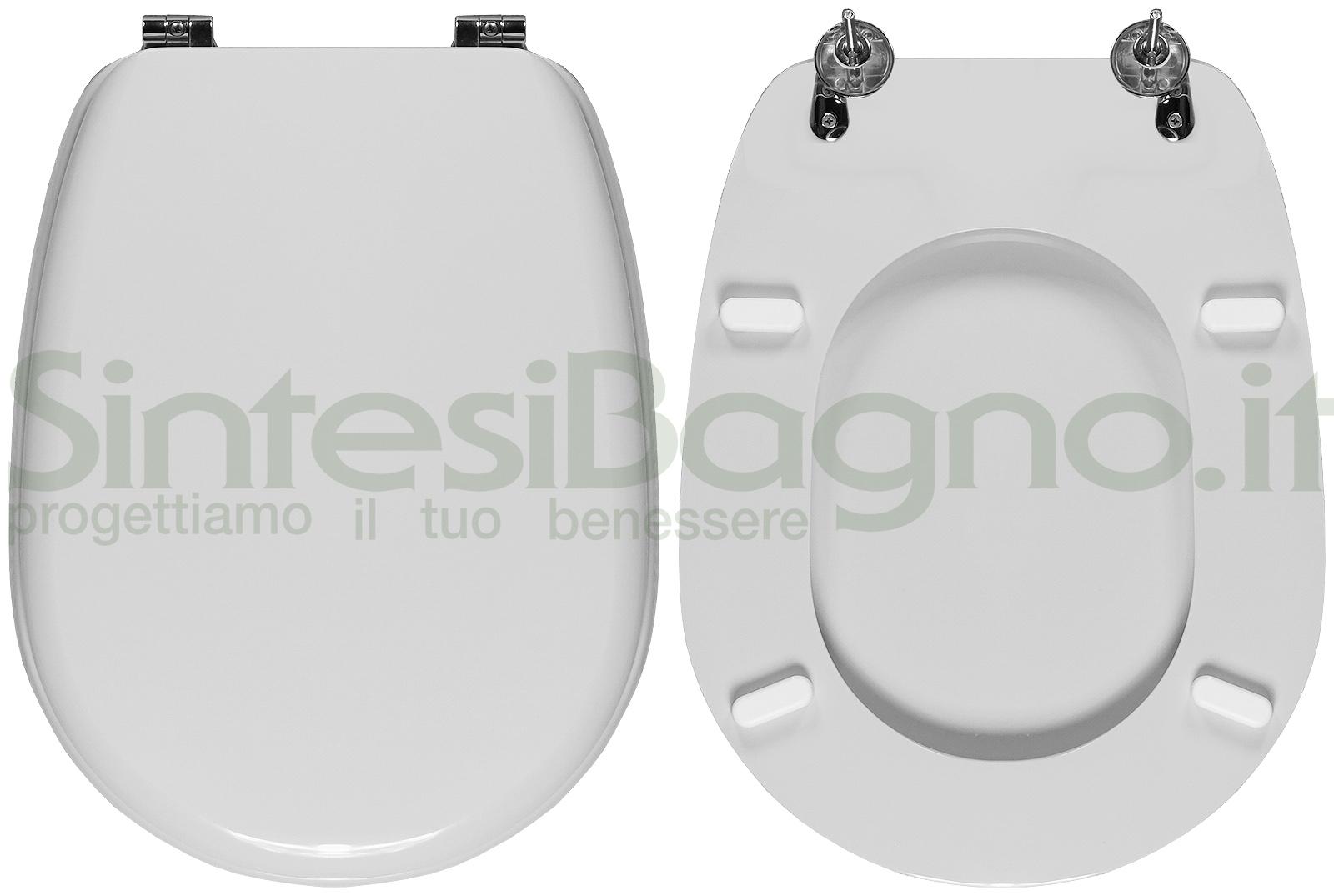 Sedile Wc Ideal Standard Liuto.Copriwater Per Wc Liuto Ideal Standard Bianco Standard Ricambio Dedicato Sintesibagno Shop Online