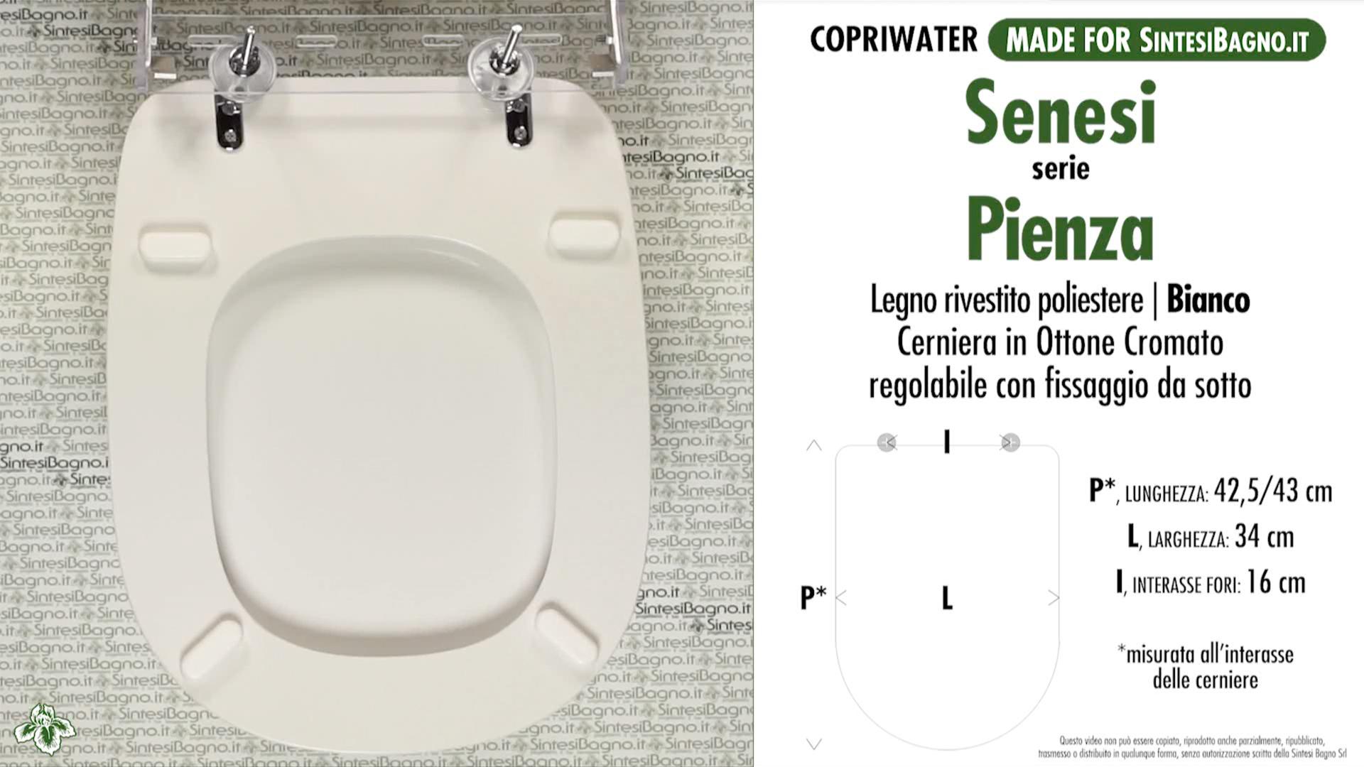 Sanitari Ceramiche Senesi.Copriwater Per Wc Pienza Senesi Ricambio Dedicato Legno Rivestito Sintesibagno Shop Online