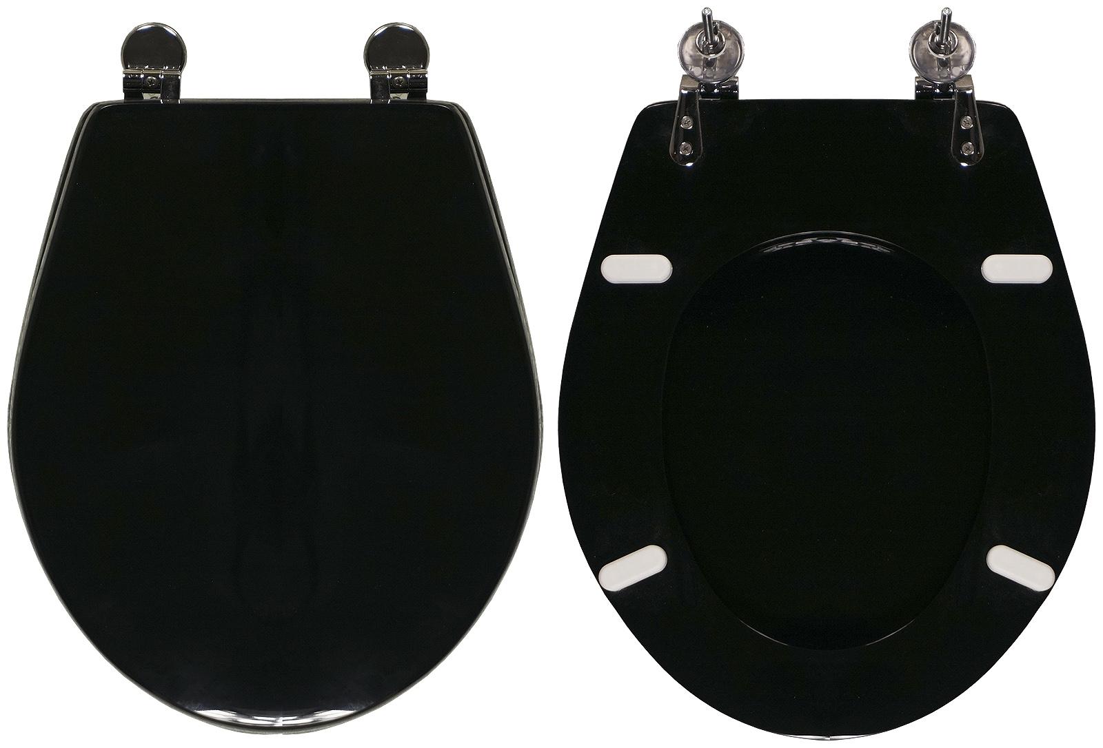 Sedili Wc Dolomite : Copriwater per wc quarzo dolomite nero ricambio dedicato legno