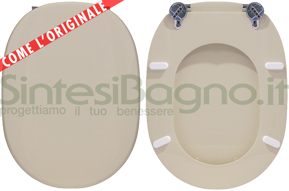 Copriwater per wc linda ideal standard champagne for Copriwater ideal