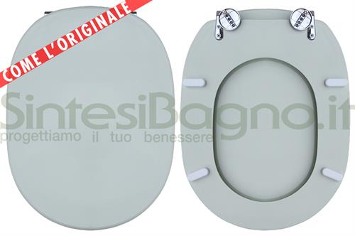 Copriwater per wc linda ideal standard verde sussurrato for Ideal standard cantica copriwater