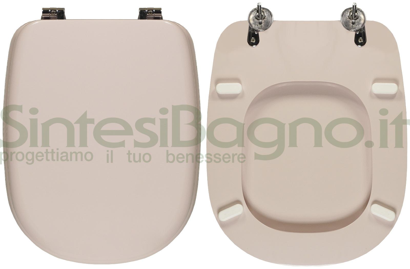 Sedile Tesi Ideal Standard Bianco Europa.Copriwater Per Wc Tesi Ideal Standard Rosa Sussurrato Ricambio Dedicato Sintesibagno Shop Online