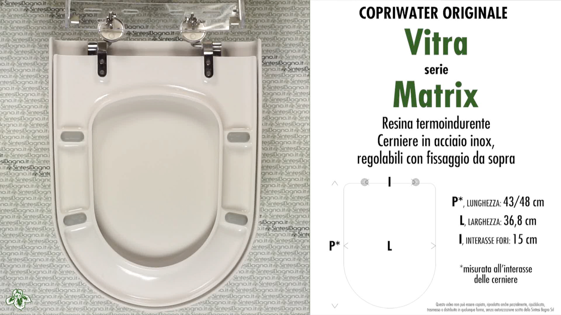 Swell Copriwater Per Wc Matrix Vitra Ricambio Originale Soft Close Duroplast Sintesibagno Shop Online Beatyapartments Chair Design Images Beatyapartmentscom