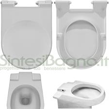 WC-Seat CARENA CIDNEO model. Type ORIGINAL. Duroplast