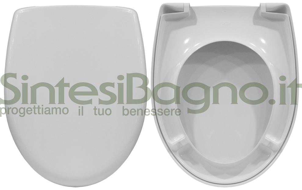 Sedile Wc Dolomite Perla.Copriwater Per Wc Perla Nuovo Dolomite Ricambio Originale Duroplast Sintesibagno Shop Online