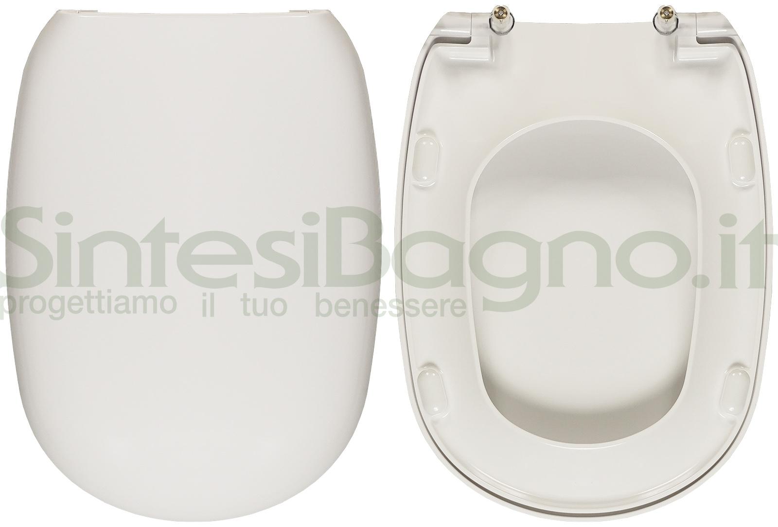 Pozzi Ginori Sedile Wc.Copriwater Per Wc Easy 02 Pozzi Ginori Ricambio Originale Duroplast Sintesibagno Shop Online