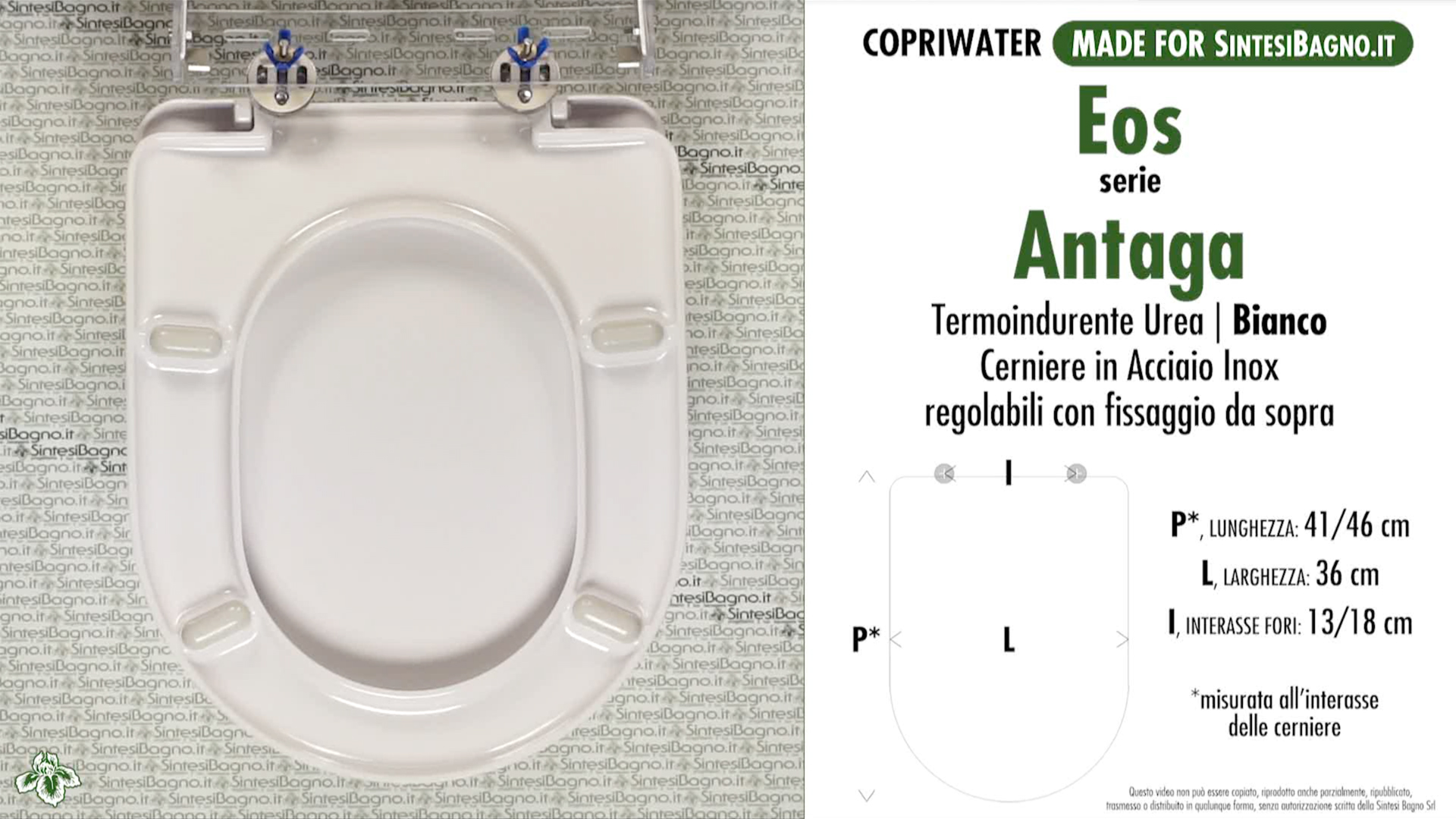Ceramica Eos Catalogo.Wc Seat Made For Wc Antaga Eos Model Type Dedicated Cheap Sintesibagno Shop Online