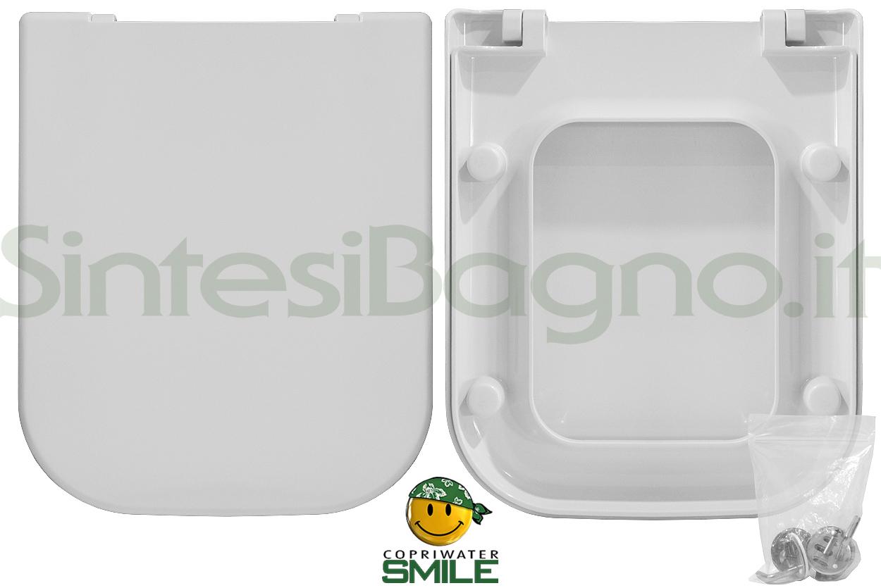 Sanitari Nero Ceramica Aliseo.Copriwater Per Wc Aliseo Nero Ceramica Soft Close Ricambio Dedicato Sintesibagno Shop Online