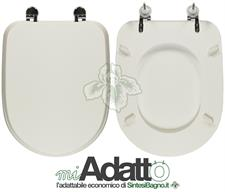 WC-Seat MADE for wc AFRODITE AZZURRA Model. Type ADAPTABLE. Cheap price