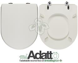 Copriwater per wc esedra ideal standard tipo adattabile for Copriwater ideal standard esedra