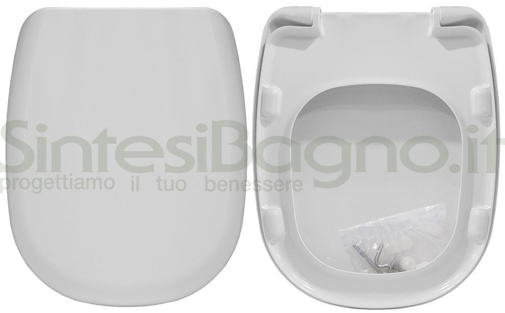 Sedile Wc Tesi Ideal Standard.Copriwater Per Wc Tesi Ideal Standard Ricambio Dedicato Duroplast