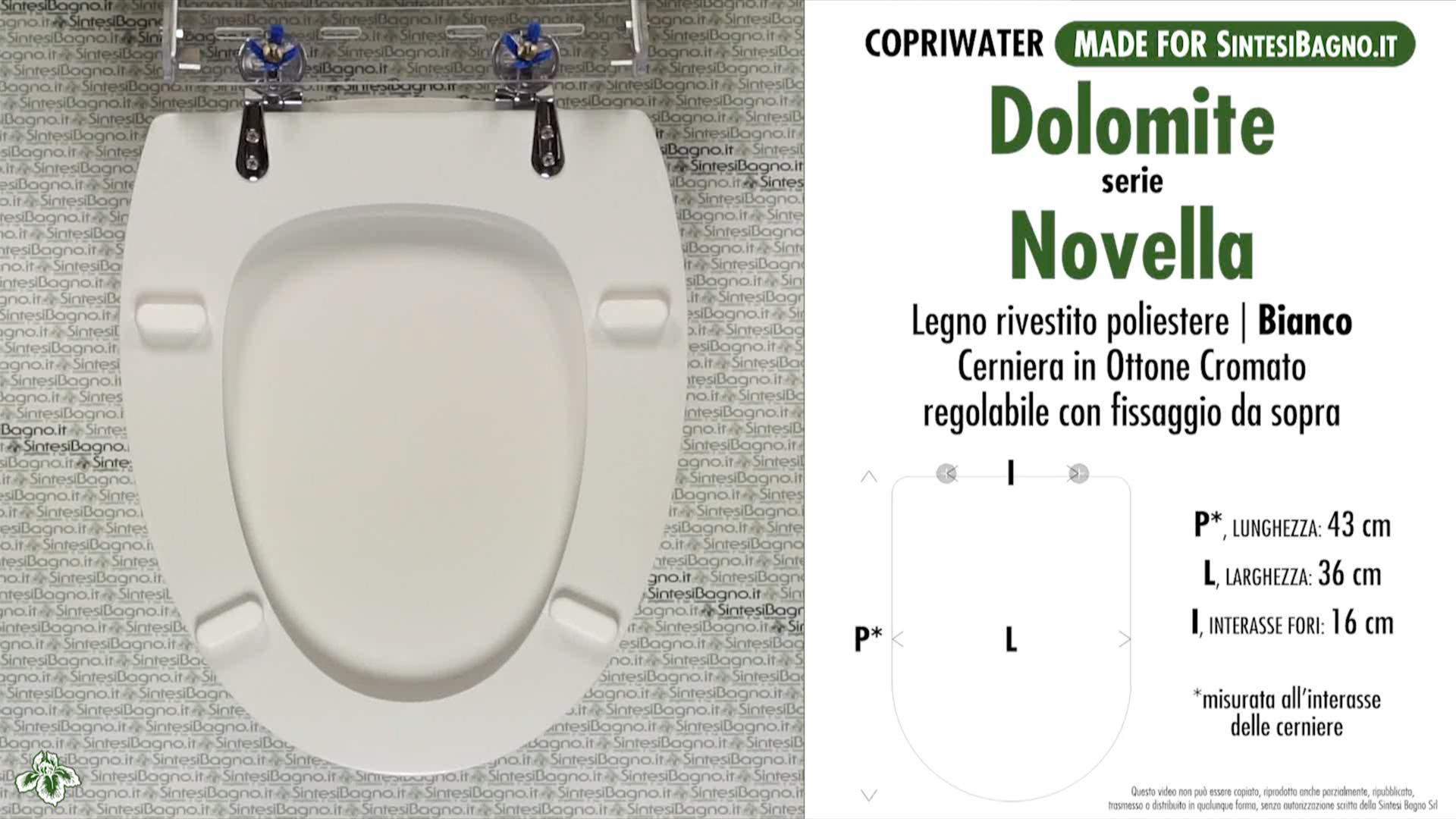 Sedile Wc Dolomite Novella.Copriwater Per Wc Novella Dolomite Ricambio Dedicato Legno Rivestito Sintesibagno Shop Online