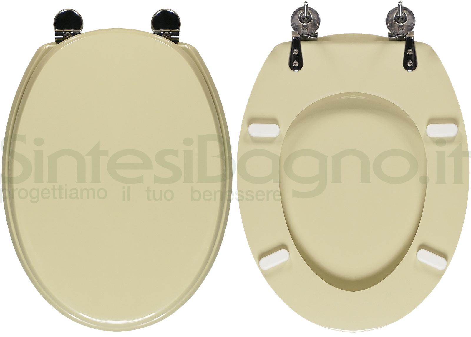 Asse Water Ideal Standard.Copriwater Per Wc Ellisse Ideal Standard Champagne Ricambio