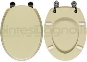 Copriwater per wc ellisse ideal standard champagne for Ellisse ideal standard