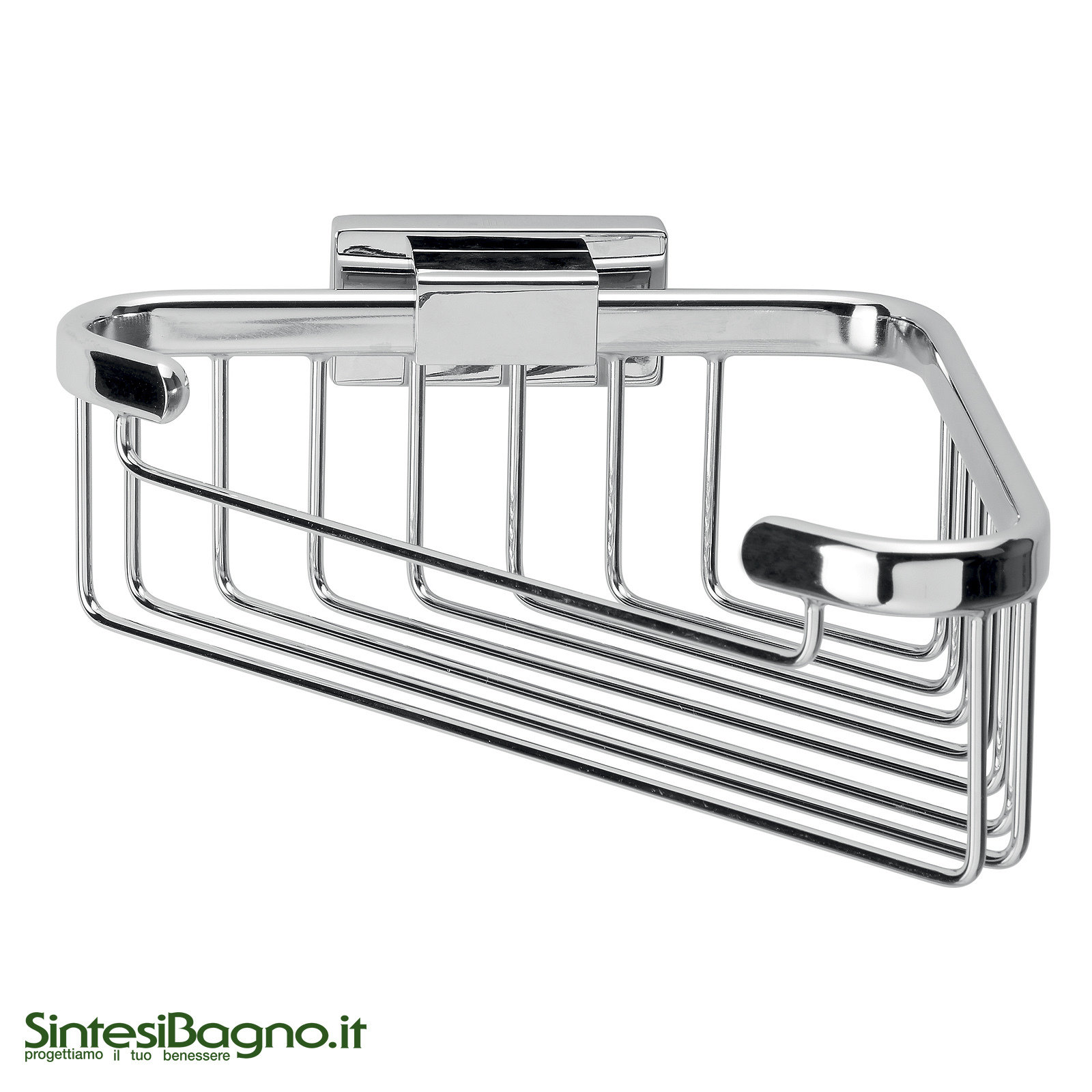 Angolare accessori bagno inda serie lea sintesibagno shop for Inda arredo bagno catalogo