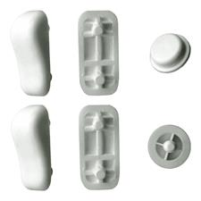 Rubber bumper kit for CLODIA ORIGINALE toilet seat