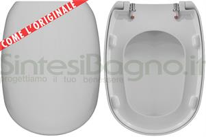 Wc Seat Easy Easy 02 Pozzi Ginori Model Type Like Original Duroplast Sintesibagno Shop Online