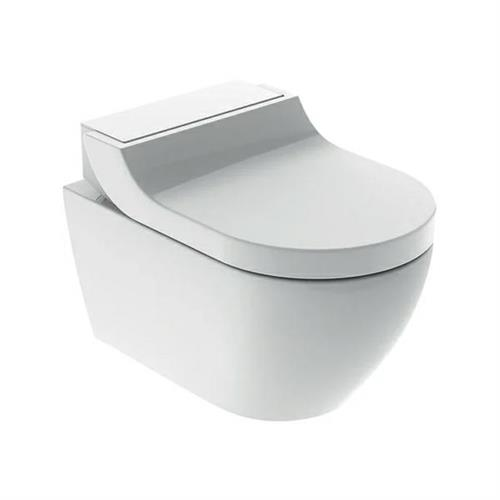 Geberit AquaClean Tuma Classic WC, wall-hung WC. White alpine. 146.090.11.1