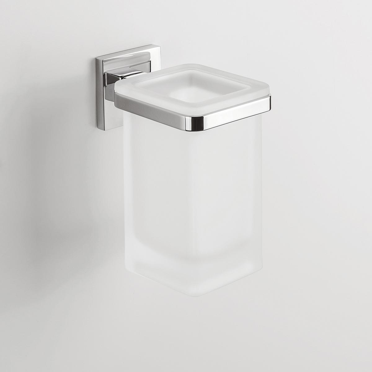 Serie Completa Accessori Bagno.Porta Bicchiere Da Parete Accessori Bagno Colombo Design Serie Basic Q Sintesibagno Shop Online