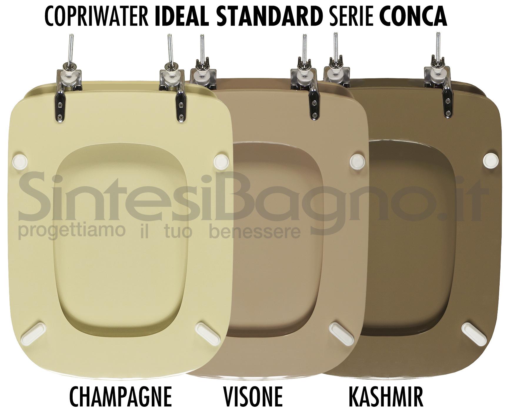 Sedile Wc Copriwater Bianco Ideal Standard Conca.I Colori Dei Sanitari Perche E Difficile Trovare Il