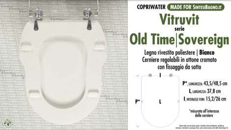 Serie OLD TIME/SOVEREIGN Vitruvit