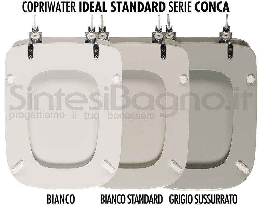 Sedile Wc Copriwater Bianco Ideal Standard Conca.Copriwater Sedile Wc Conca Scopri Quale Prodotto E Perfetto Per Il Vaso Ideal Standard Modello Conca La Versione Definitiva Dettaglio Notizia Sintesibagno Shop
